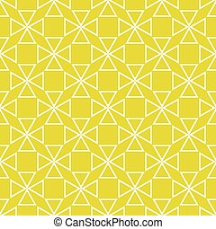 Tile yellow green vector pattern