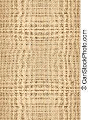 Tileable Burlap Texture - Stock image of Closeup of Burlap...