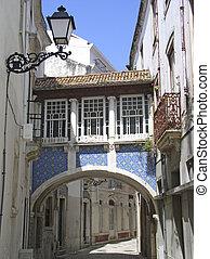Pretty street in Portugal