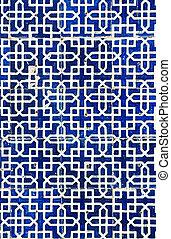 Tiled background, oriental ornaments from Uzbekistan Tiled ...