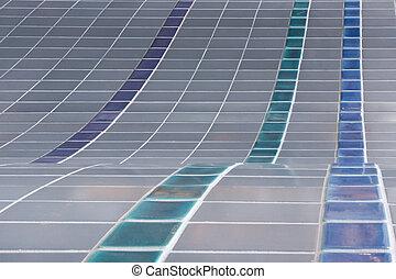 tiled, oppervlakte