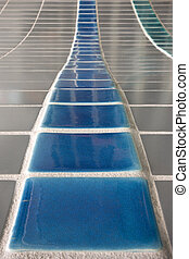 Tiled surface