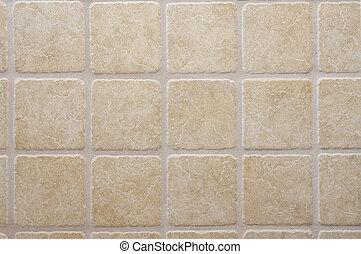 tiled wall