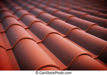 tiles., 屋根