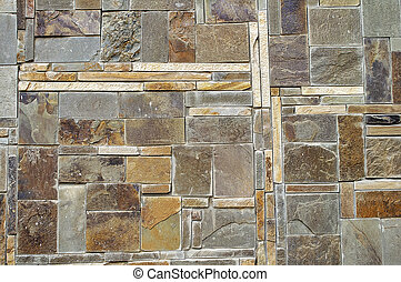 Tiles of natural stone