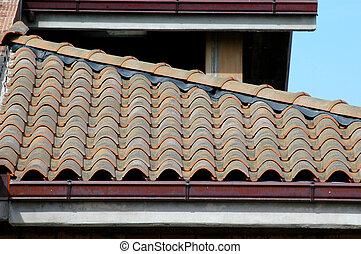 Tiles on the roof - tiles on the roof