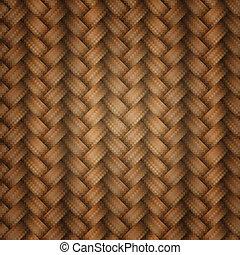 tiling, wicker, textuur