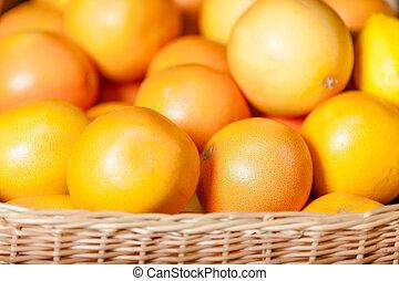 tillsluta, apelsiner