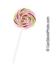 tillsluta, av, loli, pop, candy.