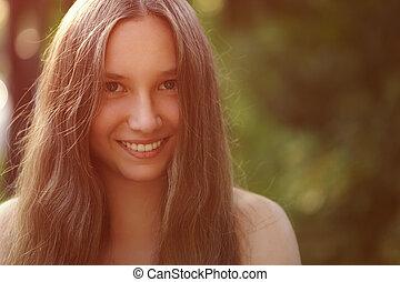 Sexiga nakna kvinnliga tonåringar