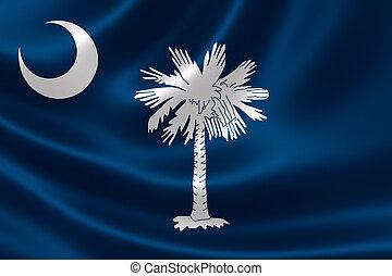 tillstånd flagg, södra carolina