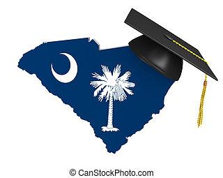 tillstånd, högskola, södra carolina