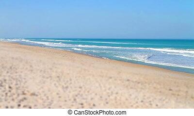 Tilt Shift Beach Florida Playalinda - Tilt Shift Beach...
