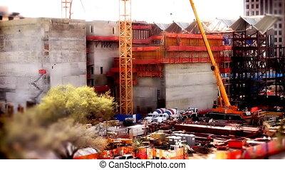 Tilt Shift Construction Area Two - Tilt Shift Construction...