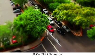 Tilt Shift traffic Miami Florida - Miami Fl Tilt shift...
