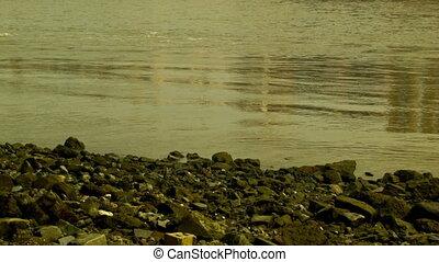 Tilt shot from the Thames