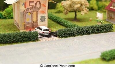 Tilt up euro house