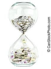 tilvækst branche, og, rigdom, hen, tim