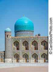 Tilya-Kori Madrasah, Registan, Samarkand - Tilya-Kori...