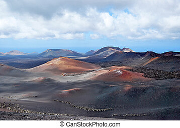 Timanfaya volcanoes national park