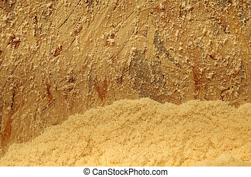 Timber sawdust