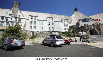 Timberline Lodge - High atop Mount Hood, Timberline Lodge,...