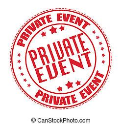 timbre, événement, privé