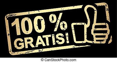 timbre, 100, %, or, gratuitement