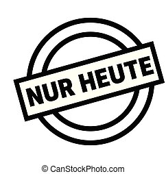 timbre, allemand, seulement, aujourd'hui