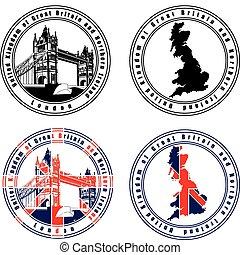 timbre, anglaise