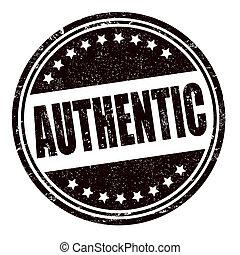timbre, authentique