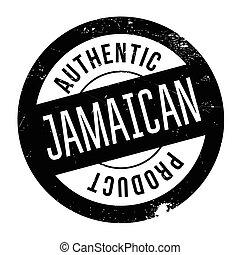 timbre, authentique, produit, jamaïquain