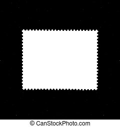 timbre, blanc, formulaire, fond
