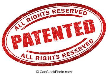 timbre, breveté