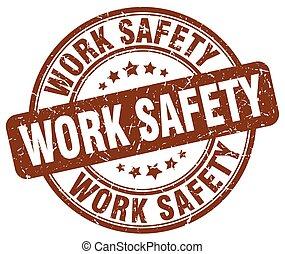 timbre, brun, travail, grunge, sécurité