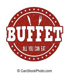 timbre, buffet
