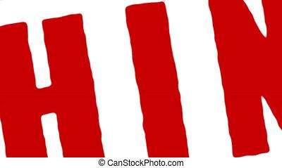 timbre, caoutchouc, fait, porcelaine, rouges