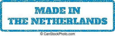 timbre, caoutchouc, pays-bas, fait