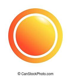 timbre, cercle, cachet, icône