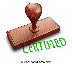 timbre, certifié
