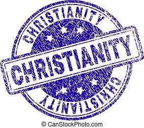 timbre, christianisme, grunge, textured, cachet