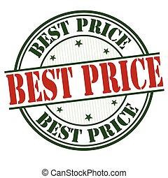 timbre, coût, ou, mieux, signe