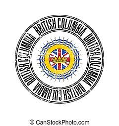 timbre, colombie, britannique, province