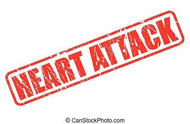 timbre, crise cardiaque, rouges, texte