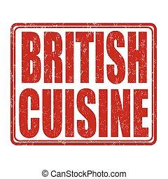 timbre, cuisine, britannique