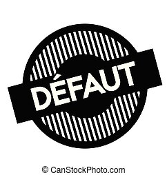 timbre, défaut, francais