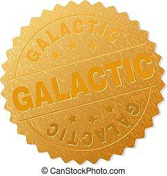 timbre, doré, galactique, récompense