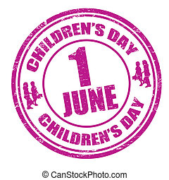 timbre, enfants, jour