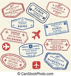 timbre, ensemble, passeport