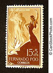 timbre, espagne, danseurs, affranchissement, flamenco
